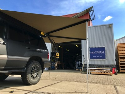 Roof tent awning car 270