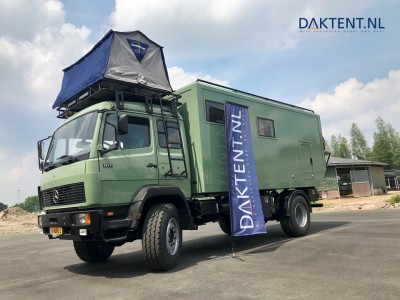 Overcamp roof tent lorry