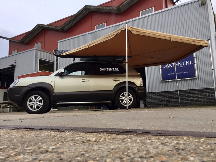 Roof tent awning DTBD