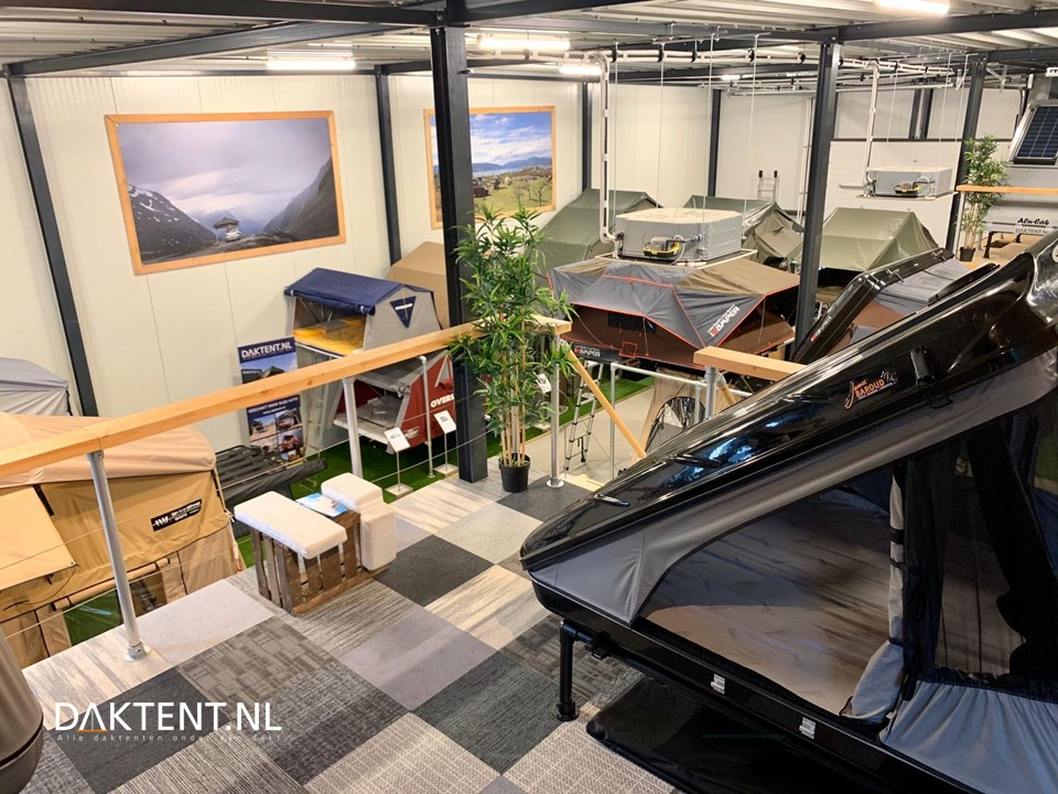 Roof tent experience center