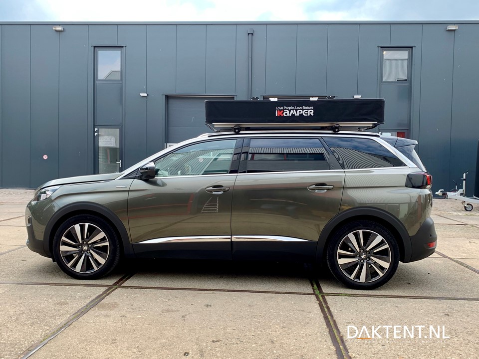 Peugeot 5008 rooftent X-cover iKamper closed