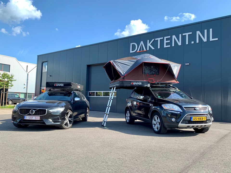 Volvo V90 rooftent x-cover