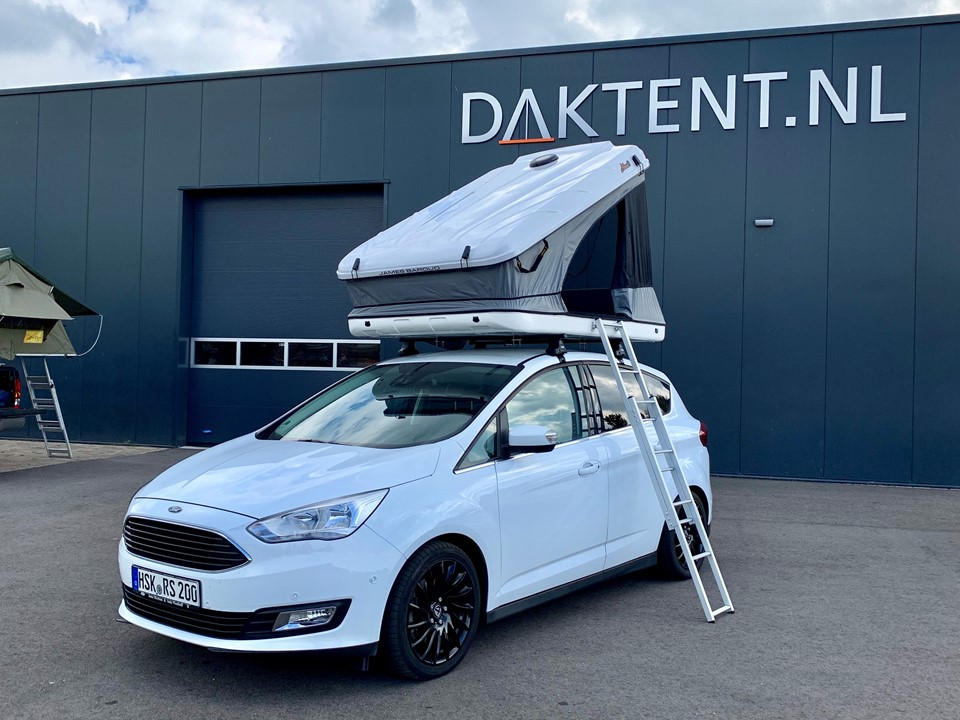 Ford C-Max daktent James Baroud Space wit