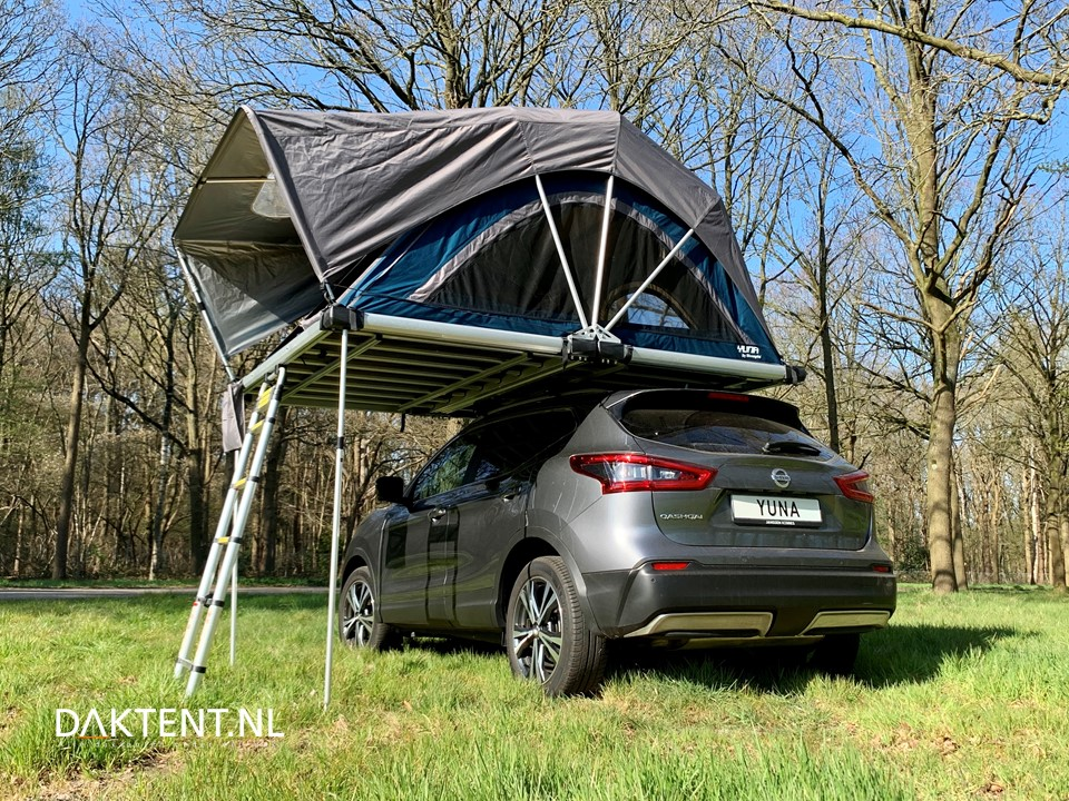 Yuna Family rooftop tent size