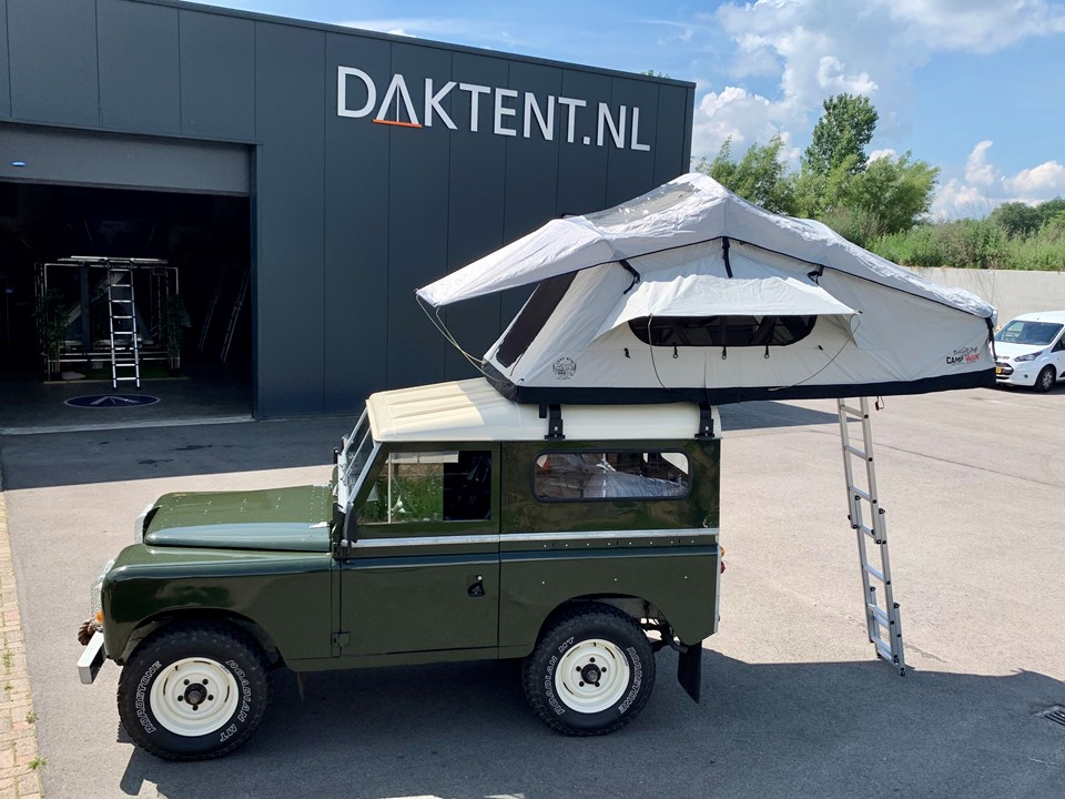 Defender 90 Campwerk Adventure daktent